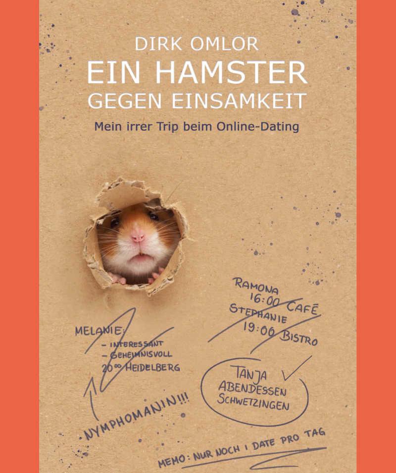 """Buchcover """"Ein Hamster gegen Einsamkeit"""""""